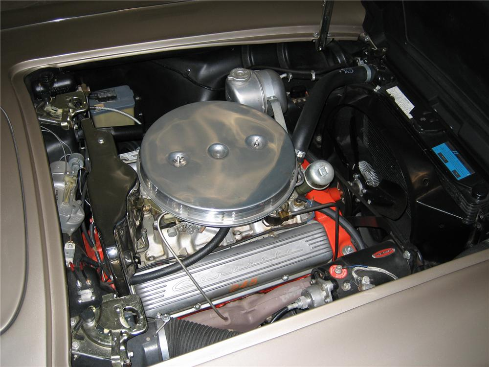 1961 CHEVROLET CORVETTE 283/245 CONVERTIBLE - Engine - 43508