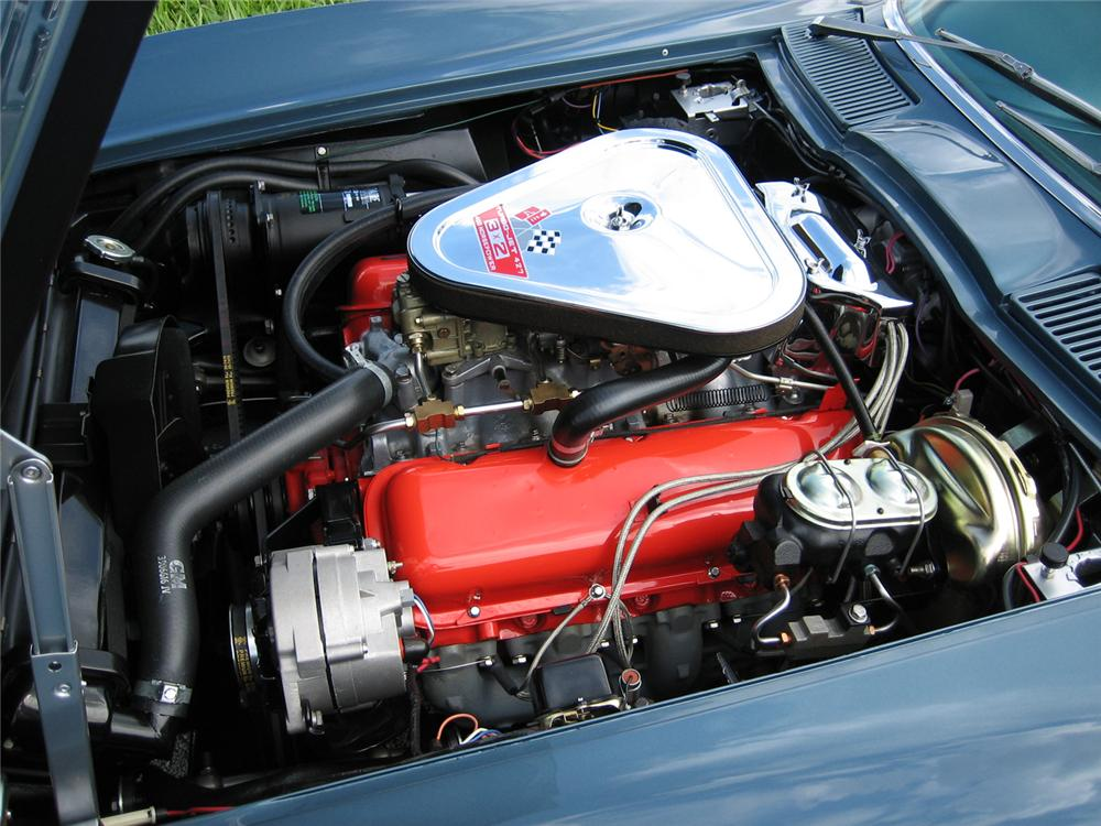 1967 CHEVROLET CORVETTE 427/400 CONVERTIBLE - Engine - 43513