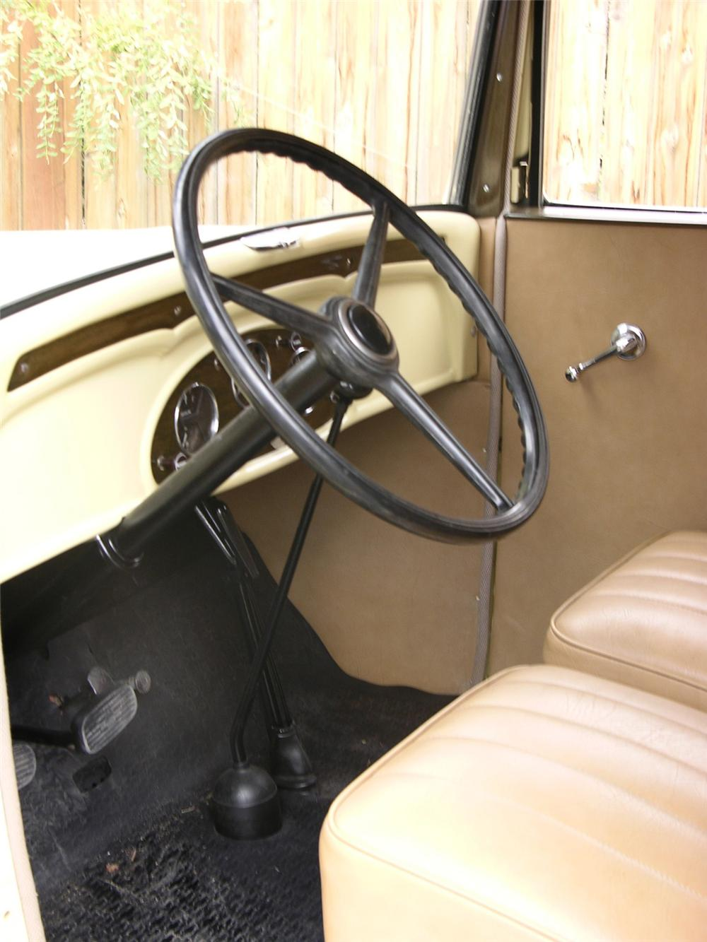 1933 CHEVROLET SEDAN DELIVERY SEDAN - Interior - 43518