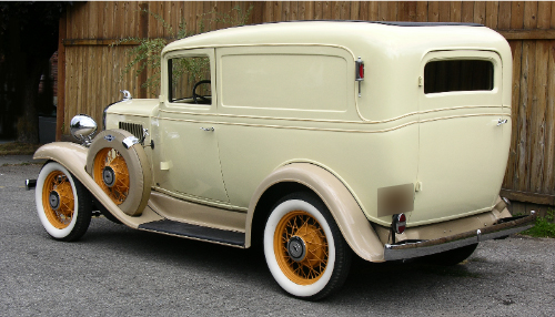 1933 CHEVROLET SEDAN DELIVERY SEDAN - Rear 3/4 - 43518
