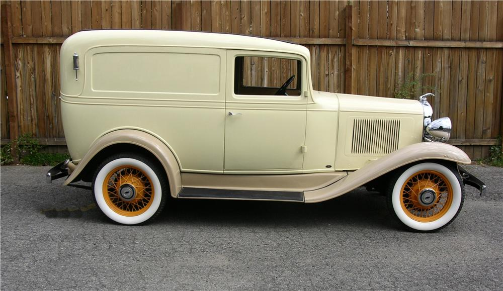 1933 CHEVROLET SEDAN DELIVERY SEDAN - Side Profile - 43518
