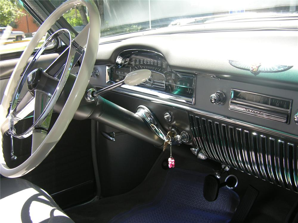 1950 CADILLAC SERIES 62 2 DOOR HARDTOP - Interior - 43519
