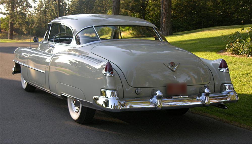 1950 CADILLAC SERIES 62 2 DOOR HARDTOP - Rear 3/4 - 43519