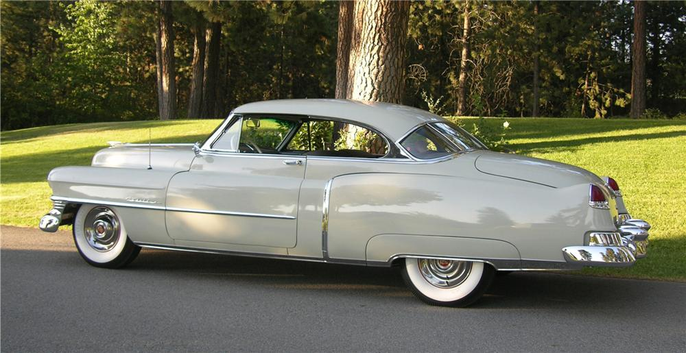 1950 CADILLAC SERIES 62 2 DOOR HARDTOP - Side Profile - 43519