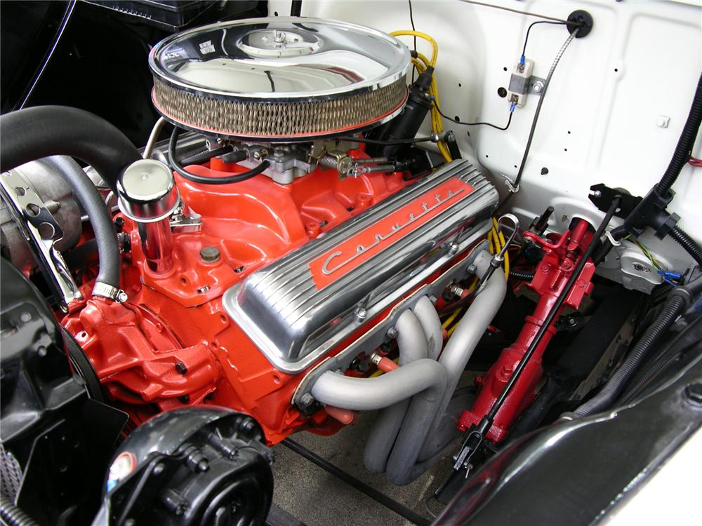 1955 CHEVROLET CAMEO PICKUP - Engine - 43520