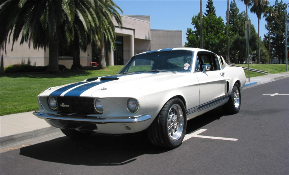 1967 SHELBY GT500 FASTBACK - Front 3/4 - 43545
