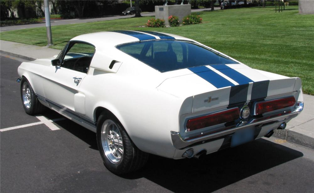 1967 SHELBY GT500 FASTBACK - Rear 3/4 - 43545