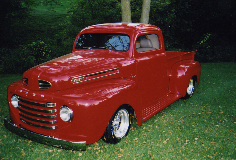 1950 FORD F-1 PICKUP - Front 3/4 - 43546