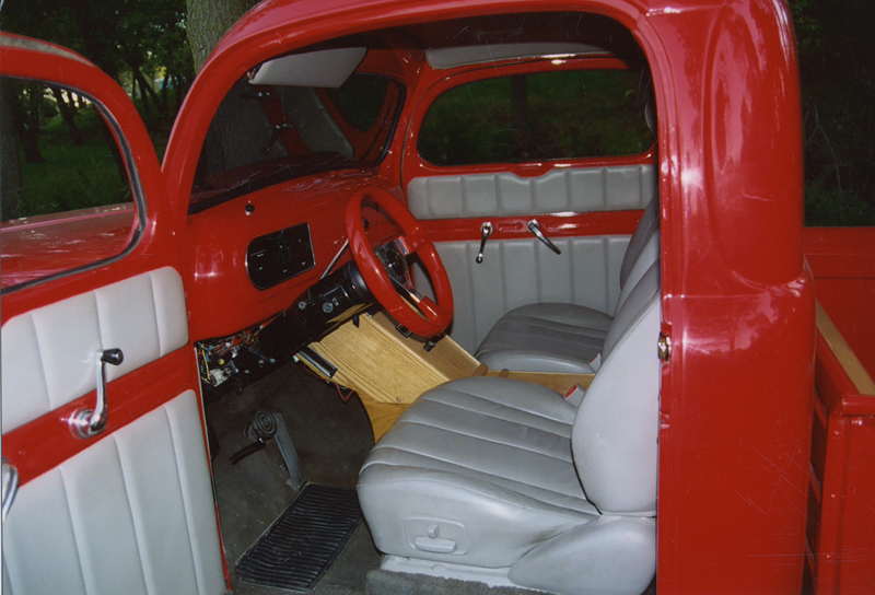 1950 FORD F-1 PICKUP - Interior - 43546