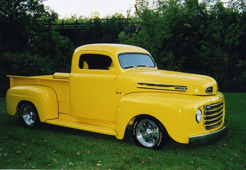 1950 FORD F-1 PICKUP - Front 3/4 - 43547