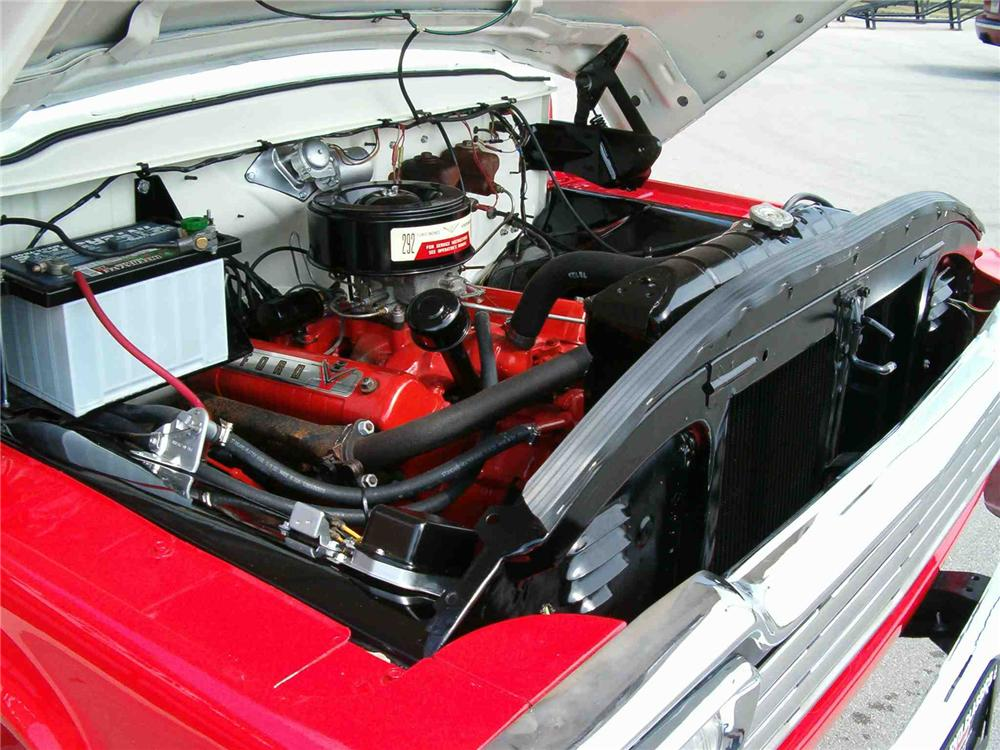 1959 FORD F-100 4X4 PICKUP - Engine - 43548