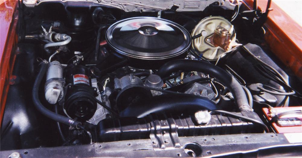 1967 PONTIAC GTO CONVERTIBLE - Engine - 43553