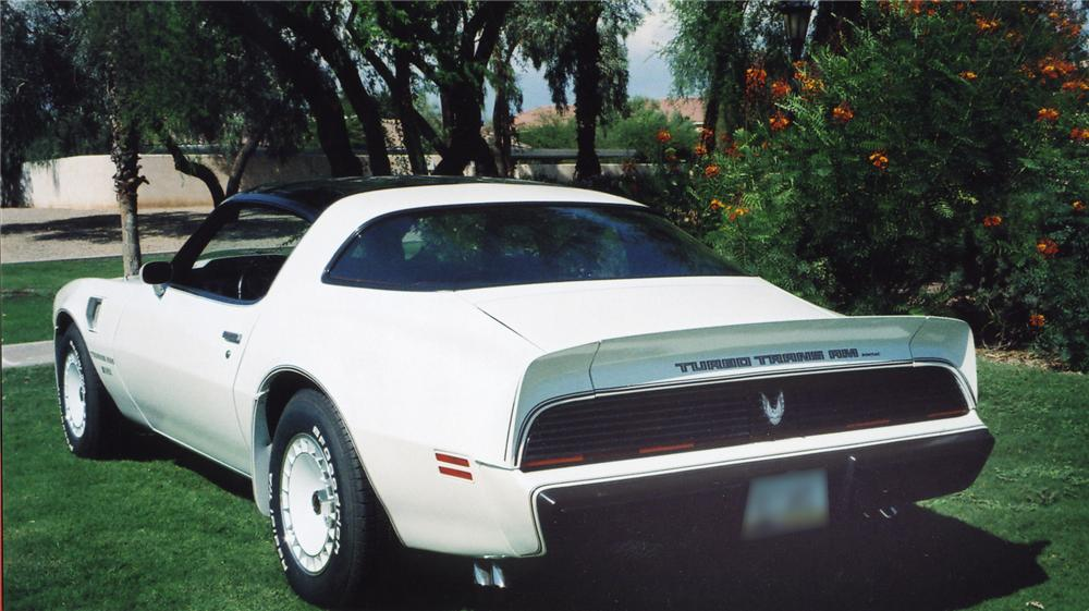 1981 PONTIAC TRANS AM COUPE - Rear 3/4 - 43554