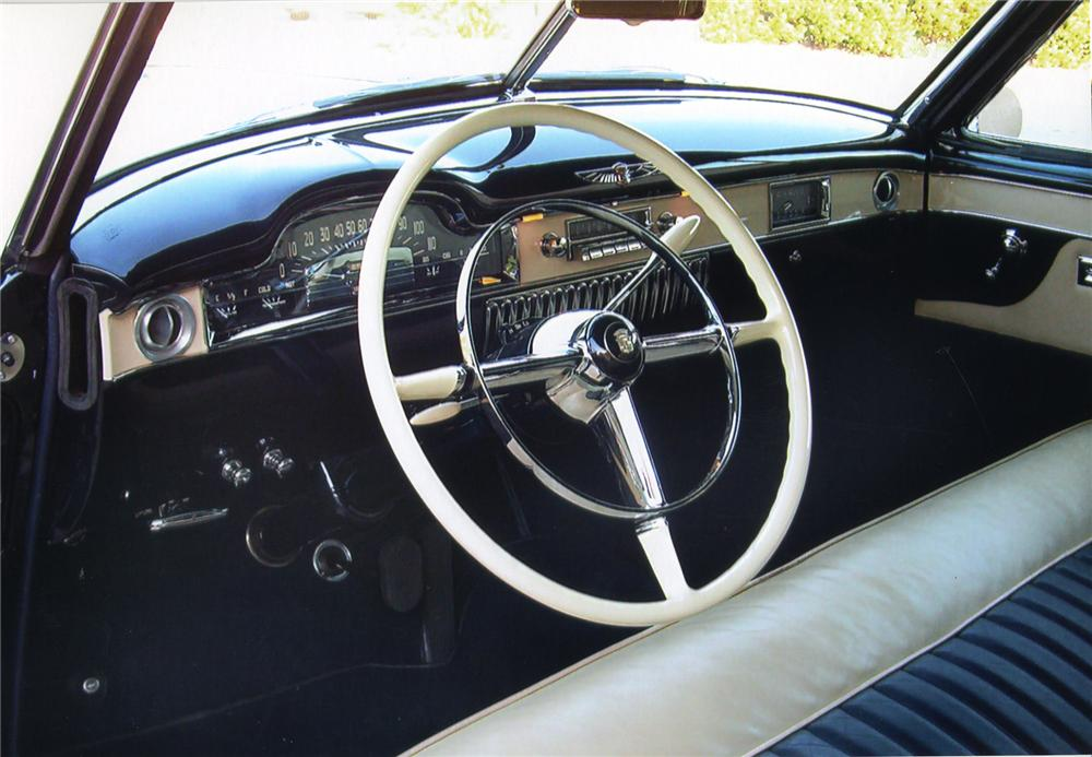 1949 CADILLAC CONVERTIBLE - Interior - 43565