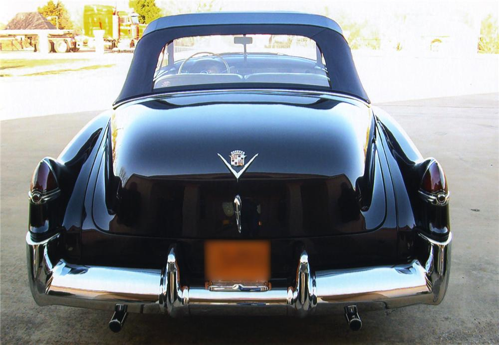 1949 CADILLAC CONVERTIBLE - Rear 3/4 - 43565