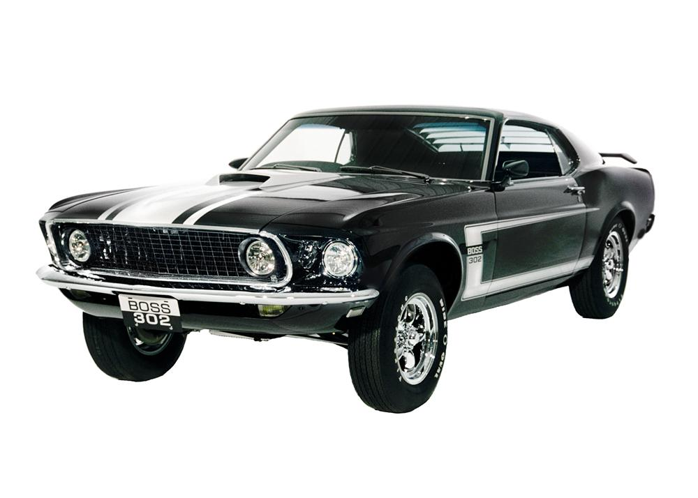 1969 ford mustang boss 302 fastback 43567. Black Bedroom Furniture Sets. Home Design Ideas