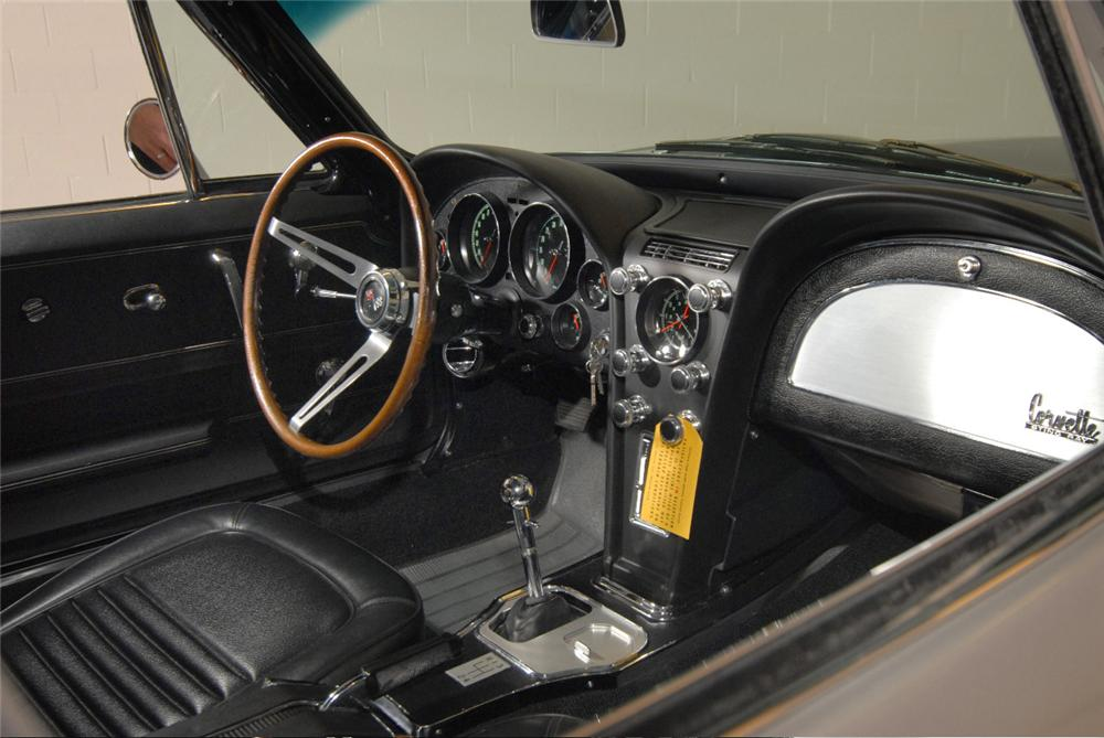 "1967 CHEVROLET CORVETTE COUPE AKA: ""THE LAST STING RAY"" - Interior - 43577"