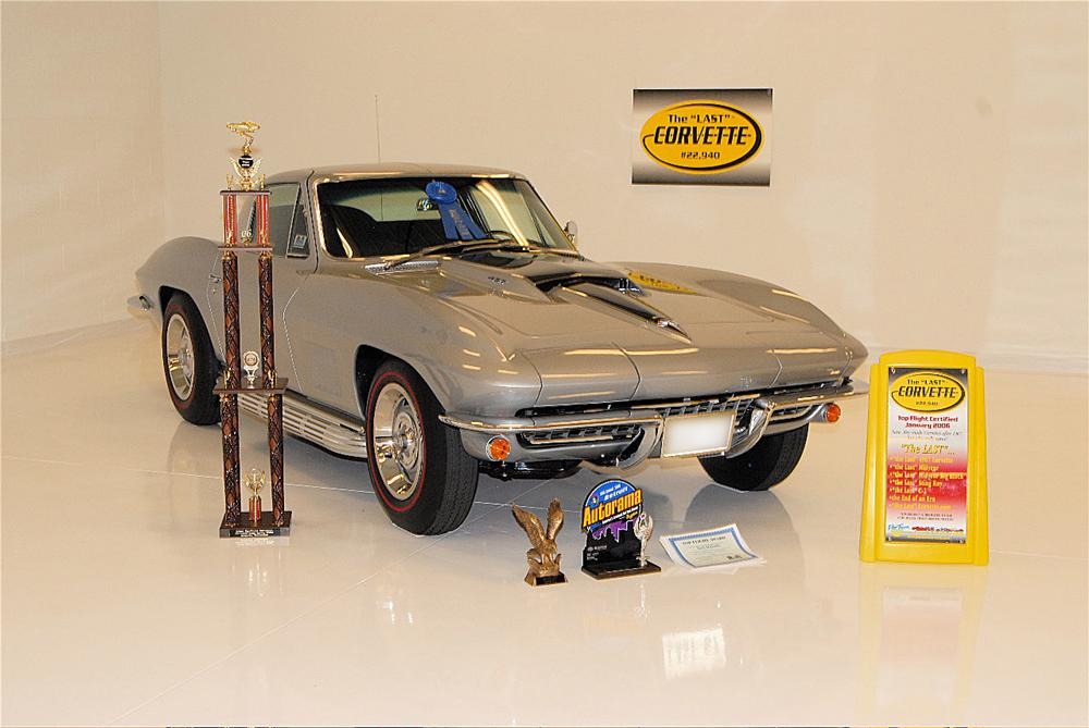 "1967 CHEVROLET CORVETTE COUPE AKA: ""THE LAST STING RAY"" - Misc 1 - 43577"