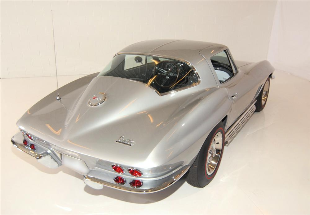 "1967 CHEVROLET CORVETTE COUPE AKA: ""THE LAST STING RAY"" - Rear 3/4 - 43577"