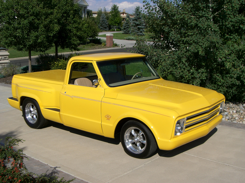 1968 CHEVROLET CUSTOM PICKUP - Front 3/4 - 43585
