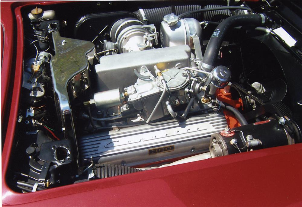 1962 CHEVROLET CORVETTE 327/360 CONVERTIBLE - Engine - 43593