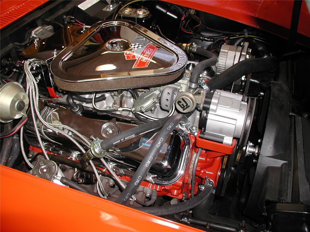 1969 CHEVROLET CORVETTE 427/435 2 DOOR COUPE - Engine - 43595