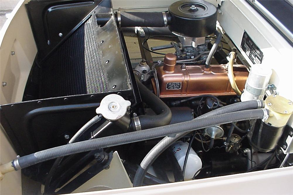 1967 AMPHICAR 770 CONVERTIBLE - Engine - 43598