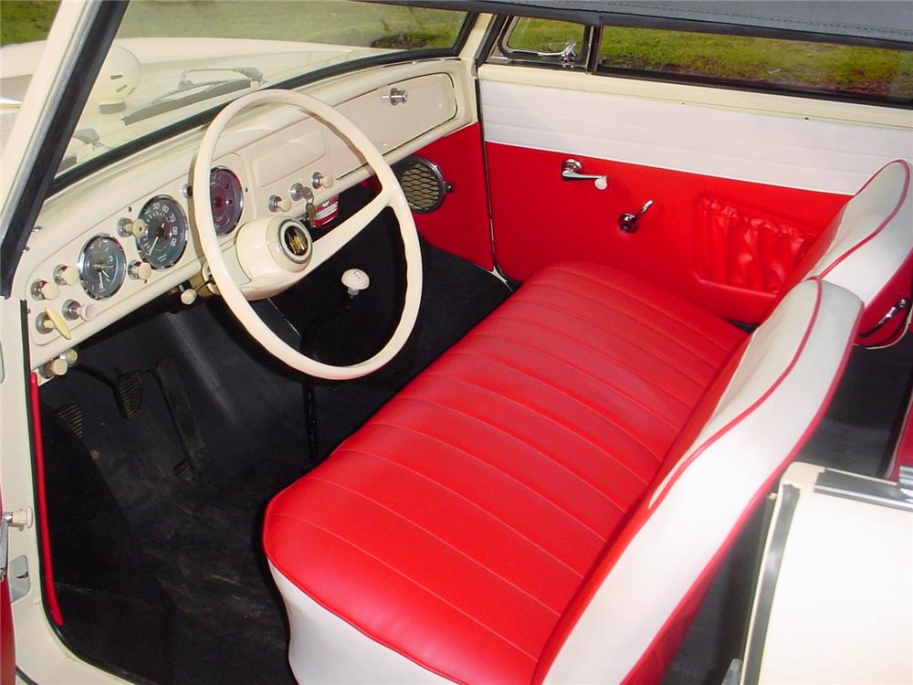 1967 AMPHICAR 770 CONVERTIBLE - Interior - 43598
