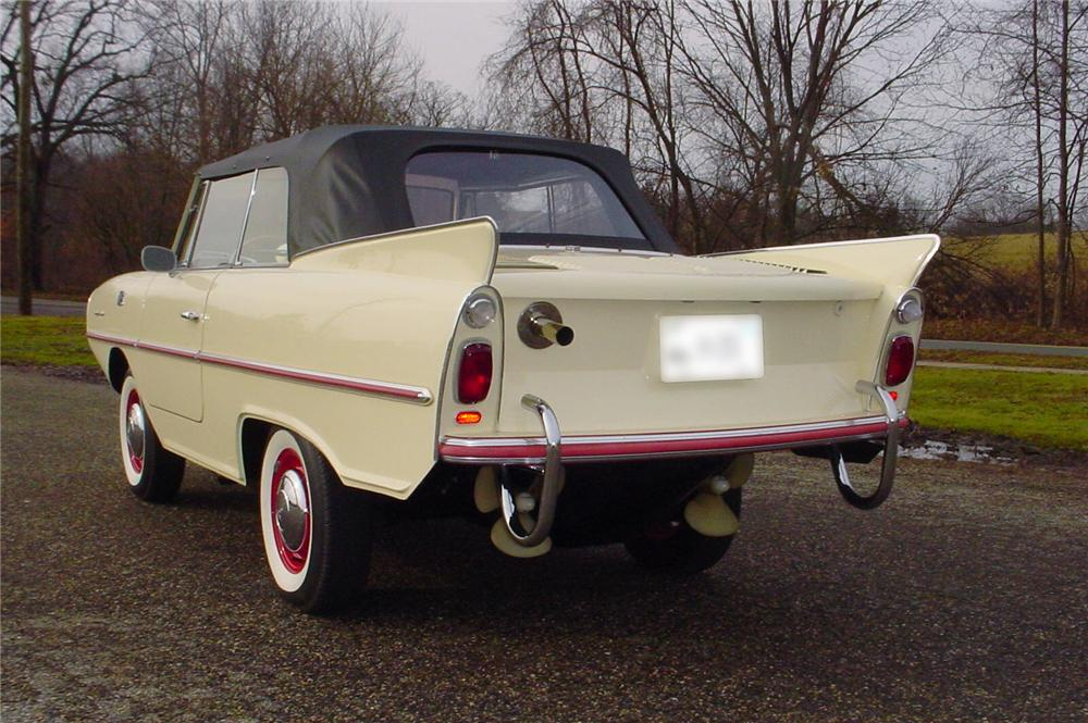 1967 AMPHICAR 770 CONVERTIBLE - Rear 3/4 - 43598