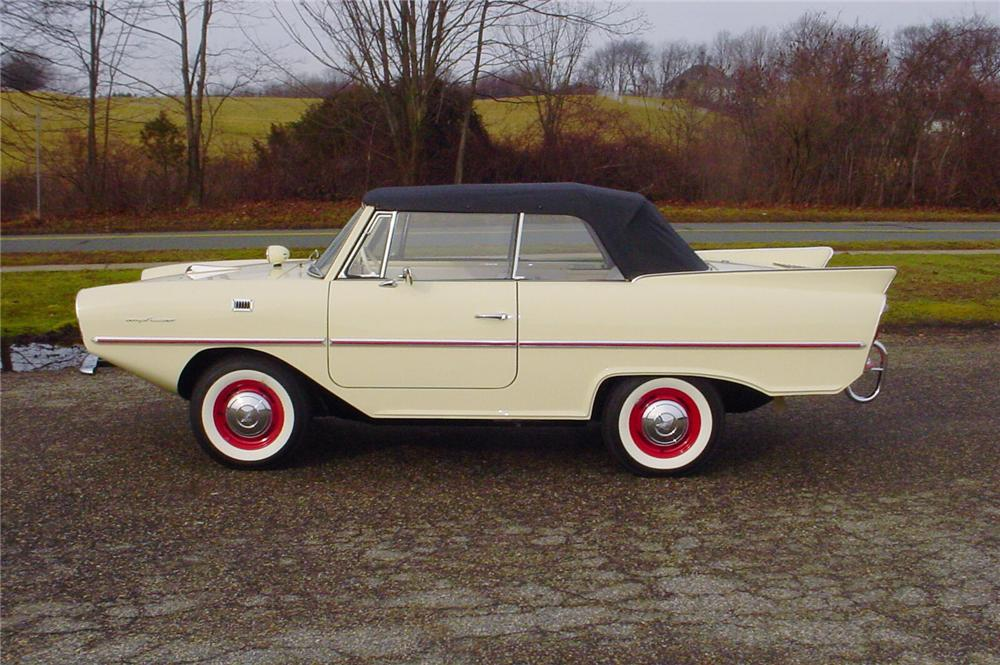 1967 AMPHICAR 770 CONVERTIBLE - Side Profile - 43598