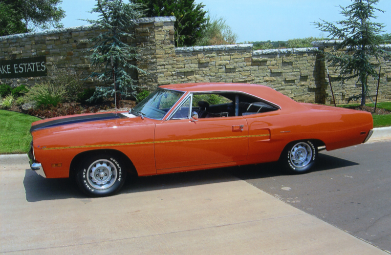 1970 PLYMOUTH ROAD RUNNER 2 DOOR HARDTOP - Front 3/4 - 43605