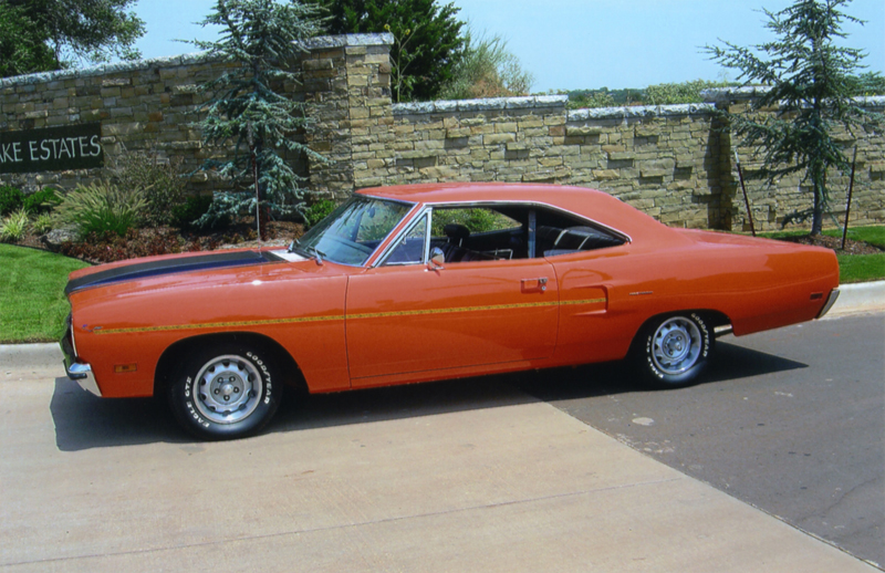 1970 PLYMOUTH ROAD RUNNER 2 DOOR HARDTOP - Side Profile - 43605