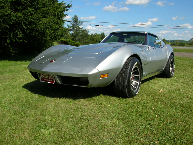 1974 CHEVROLET CORVETTE COUPE - Front 3/4 - 43609
