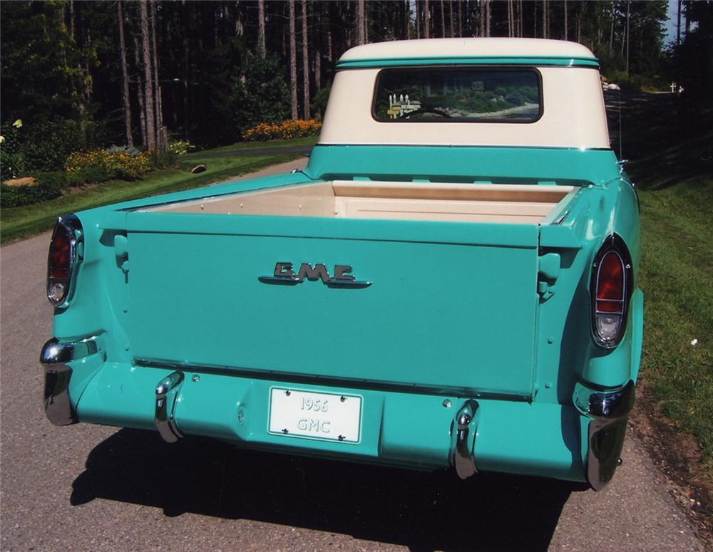 1956 GMC SUBURBAN PICKUP - Rear 3/4 - 43610