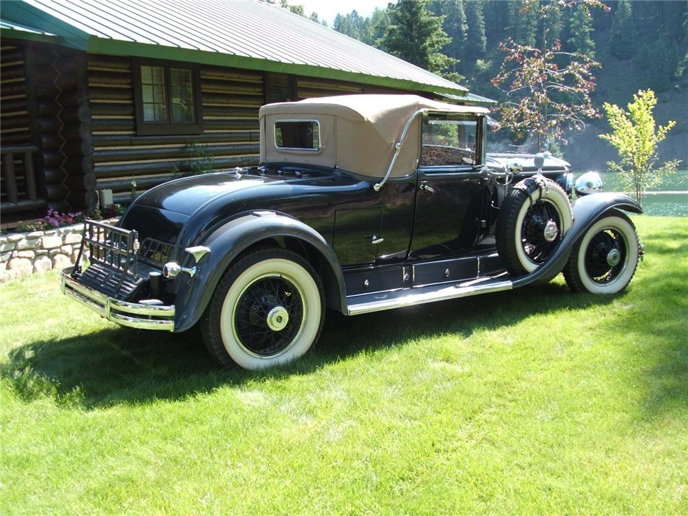 1928 CADILLAC 341 A CONVERTIBLE - Rear 3/4 - 43615