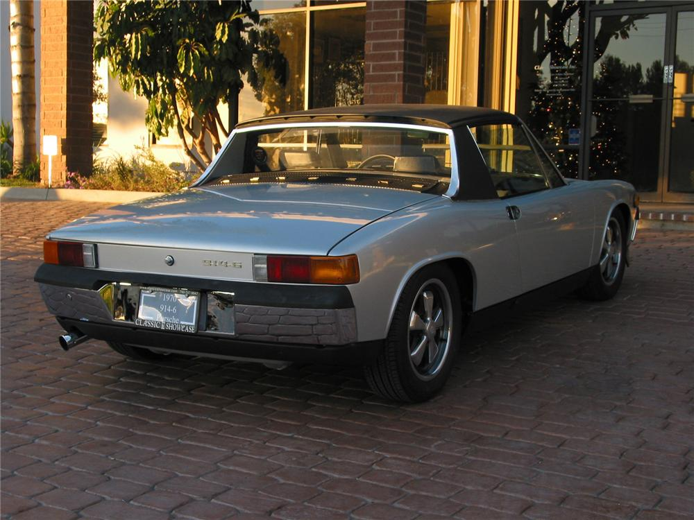 1970 PORSCHE 914-6 TARGA 2 DOOR COUPE - Rear 3/4 - 43617
