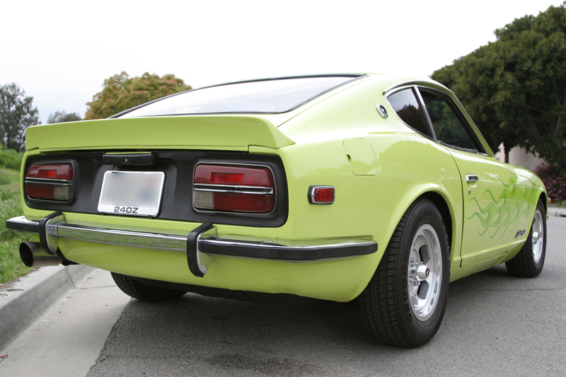 1972 DATSUN 240Z COUPE - Rear 3/4 - 43618