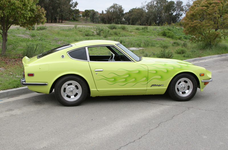 1972 DATSUN 240Z COUPE - Side Profile - 43618