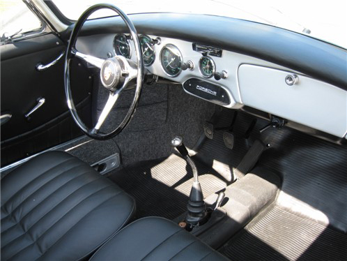 1963 PORSCHE 356B COUPE - Interior - 43620