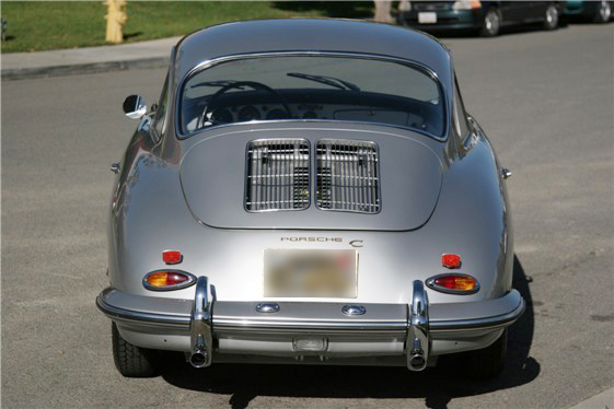 1963 PORSCHE 356B COUPE - Rear 3/4 - 43620