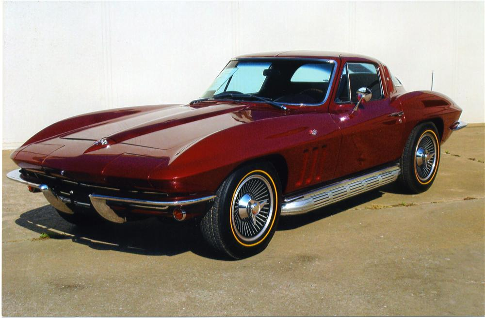 1965 CHEVROLET CORVETTE 327 COUPE - Front 3/4 - 43629