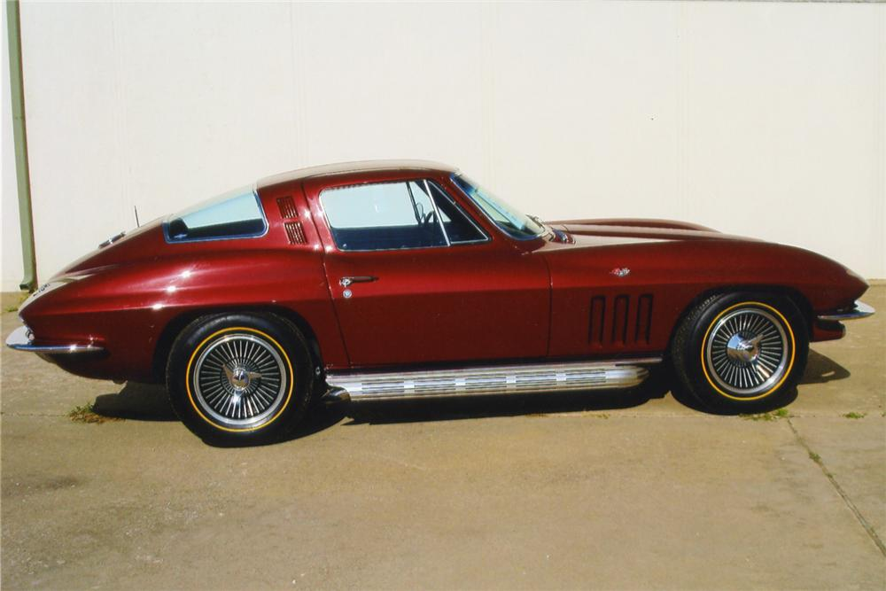 1965 CHEVROLET CORVETTE 327 COUPE - Side Profile - 43629