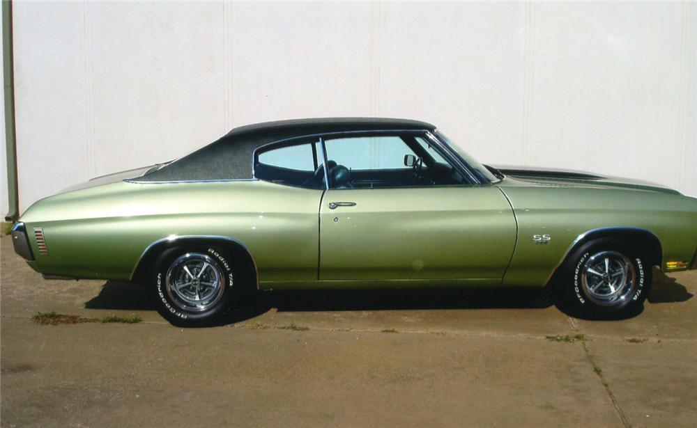 1970 CHEVROLET CHEVELLE SS 396 2 DOOR HARDTOP - Side Profile - 43630