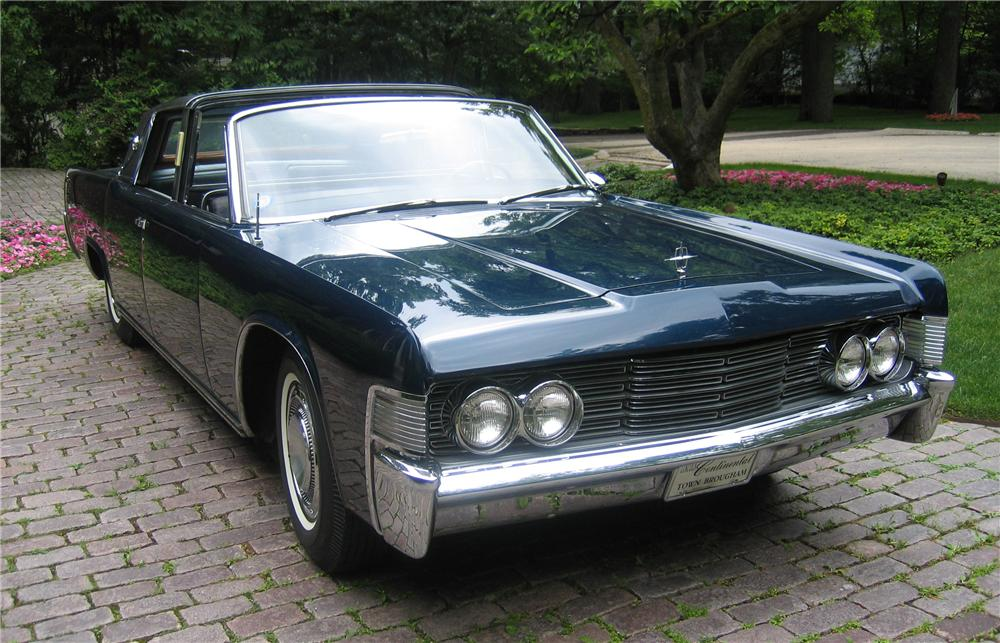 1963 Lincoln Continental Town Brougham Concept Car
