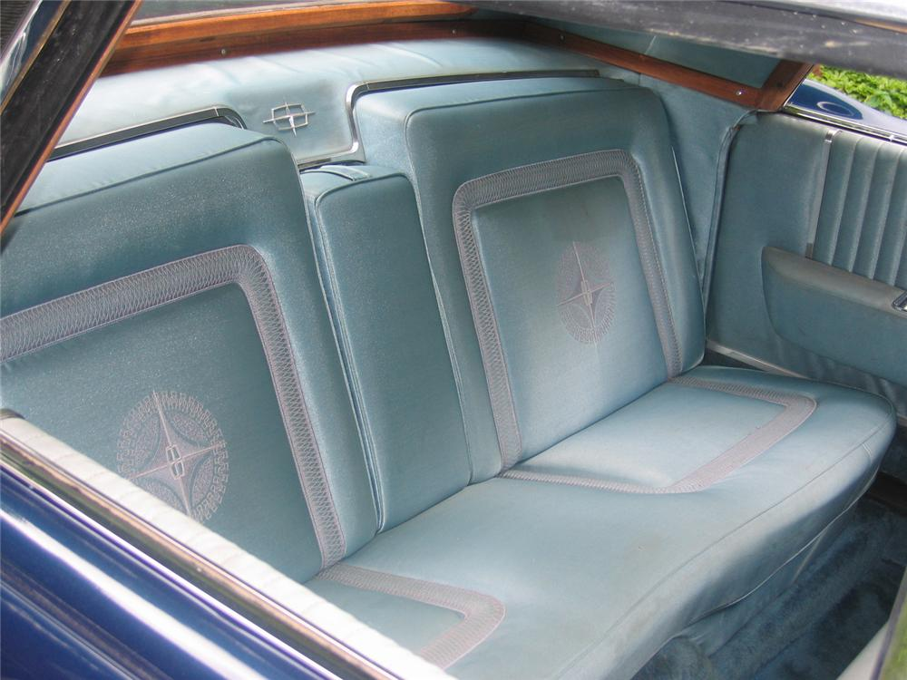 1963 LINCOLN CONTINENTAL TOWN BROUGHAM CONCEPT CAR - Interior - 43635