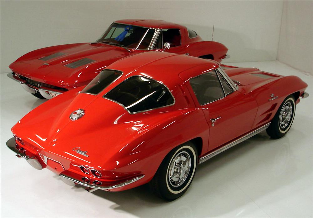 1963 chevrolet corvette 327 360 split window coupe z06