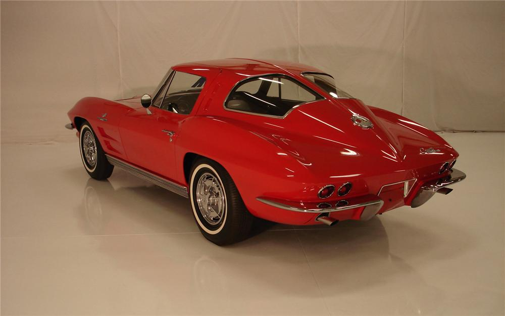 1963 CHEVROLET CORVETTE 327360 SPLIT WINDOW COUPE Z06