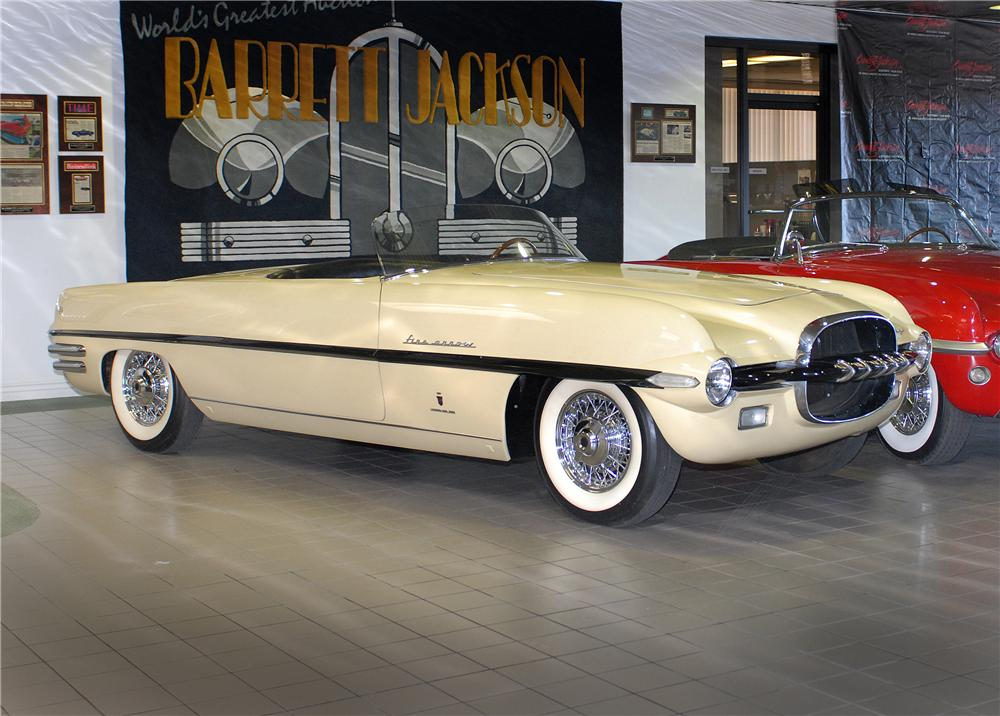 1954 DODGE FIREARROW II CONVERTIBLE CONCEPT CAR - Front 3/4 - 43645