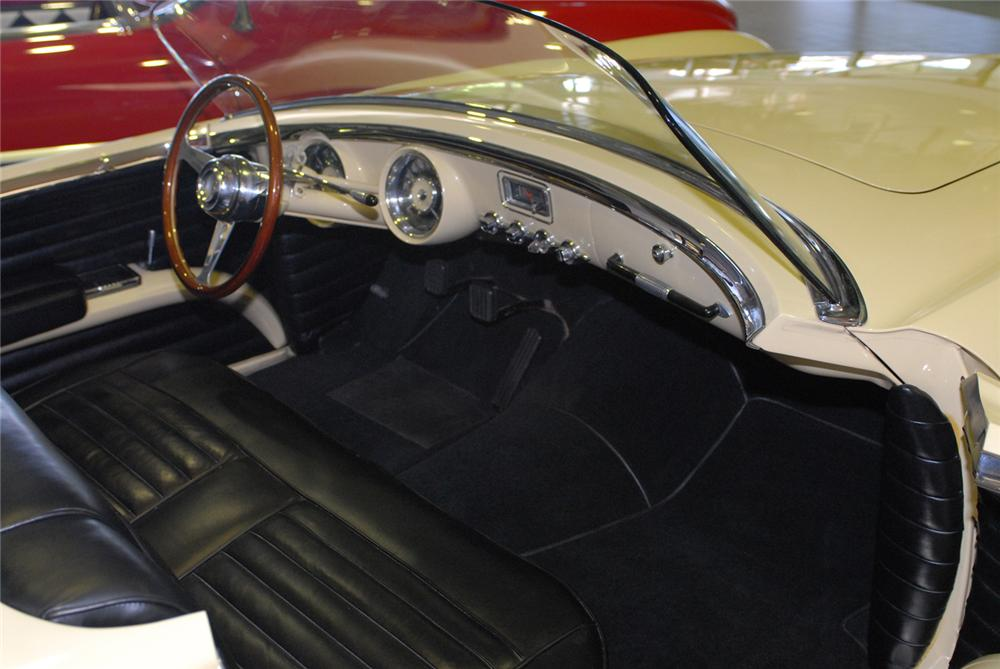 1954 DODGE FIREARROW II CONVERTIBLE CONCEPT CAR - Interior - 43645