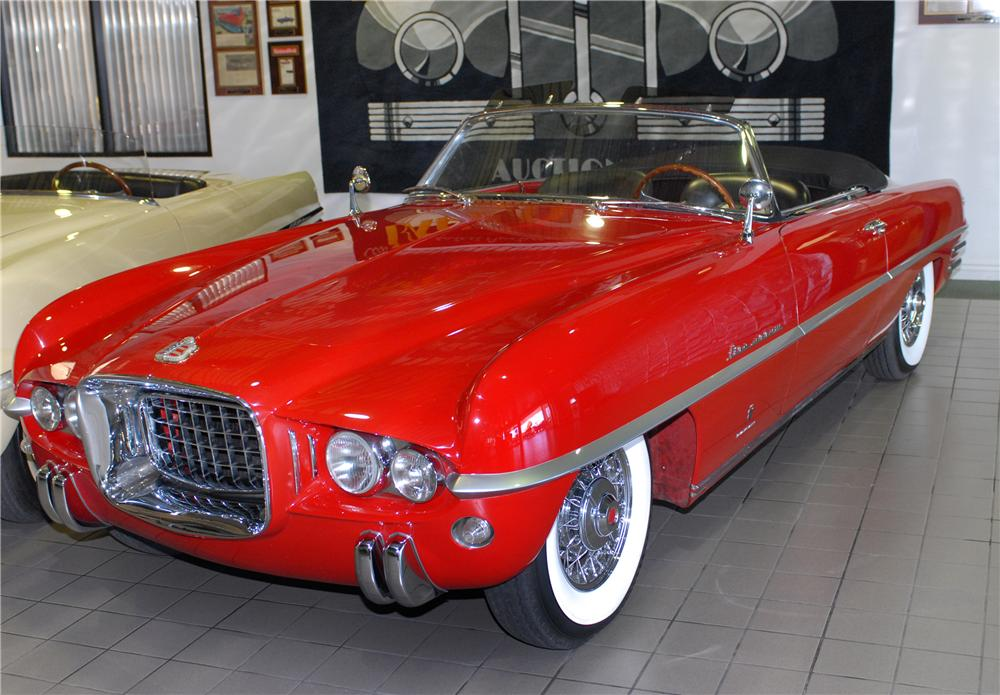 1954 DODGE FIREARROW IV CONVERTIBLE CONCEPT CAR - Front 3/4 - 43646
